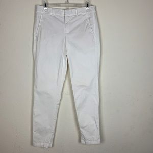 Vince- Straight Leg White Pants size 4
